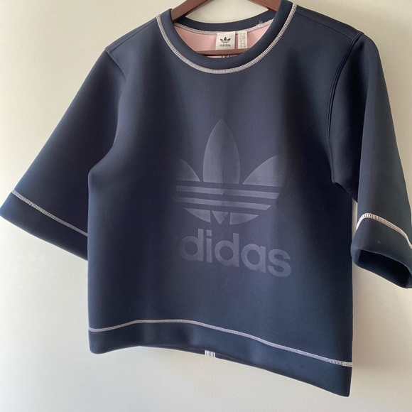 Adidas Navy Top XS GUC